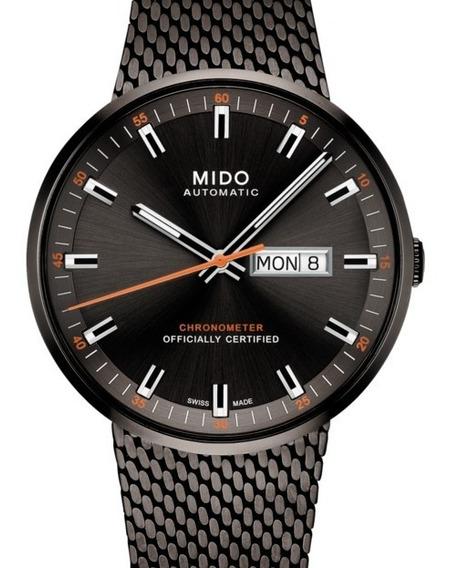 Reloj Mido M031.631.33.061.00 Caballero Negro Commander Icôn
