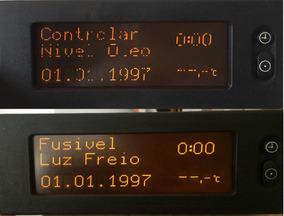 Computador Bordo Astra Vectra 32 Pinos Falhas Do Display