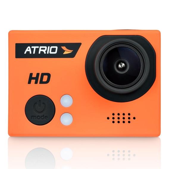 Atrio Câmera De Ação Atrio Dc186 Fullsport Cam Hd Laranja