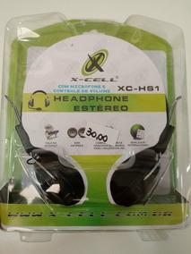 Fone Com Microfone X-cell Xc-hs1