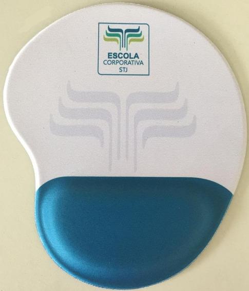 50pç Mouse Pad Ergonômico Personalizado Com A Sua Marca