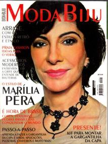 Revista Moda Biju - Disk Biju Marília Pêra - Com Peças Biju