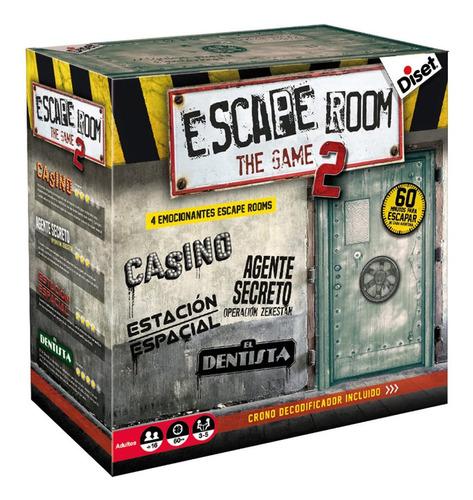 Juego De Mesa Sala De Escape Room 2 Español Original Ingenio
