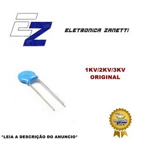 Capacitor 15 Valores 300 Pçs 1kv/2kv/3kv (0.1nf Para 22nf)
