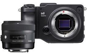 Sigma Sd Quattro Mirrorless+30mm F/1.4 Art (leia O Anúncio*)