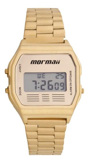Relógio De Pulso Mormaii ( Tipo Casio Retrô) Ref Mojh02ab/4d