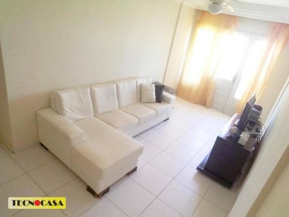 Apartamento Com 03 Dormitórios Para Alugar Com 100 M² No Bairro Vila Tupi Em Praia Grande/sp. - Ap5833