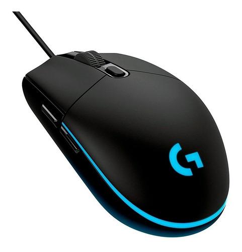 Mouse Gamer Logitech G203 Progidy Rgb 8000dpi Preto