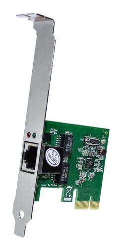 Imagem 1 de 5 de Placa De Rede 10/100/1000mbps Pci Express Gigabit Mymax