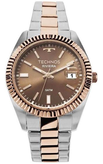 Relógio Masculino Technos Riviera 2115kts/3m Aço Misto
