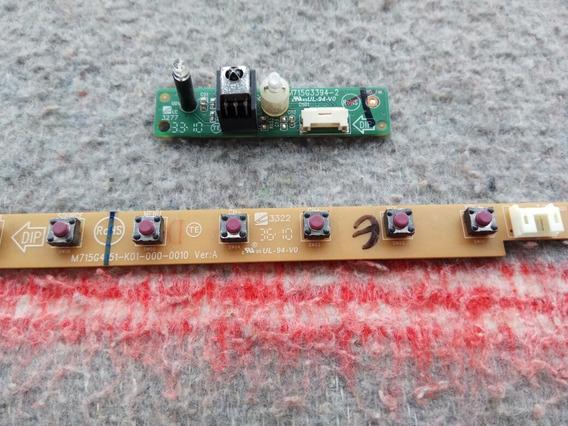 M715g3394-2 Sensor Remoto + Teclado De Funçoes