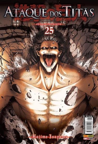 Ataque Dos Titãs - Edição 25 Série Original