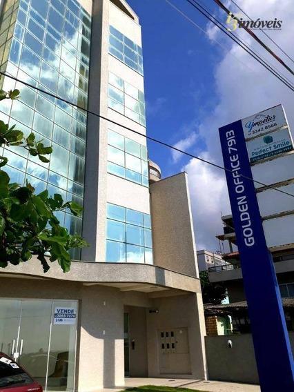Golden Office - Sala Comercial Nova Para Venda No Gravatá Em Navegantes De Frente Para O Mar - Sa0125