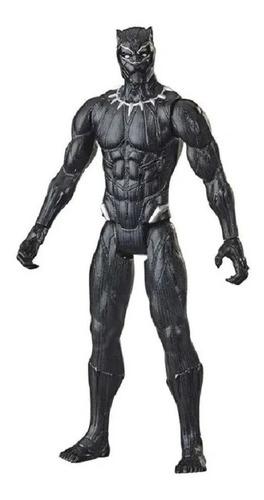 Imagem 1 de 3 de Pantera Negra Boneco Avengers Marvel 30cm Hasbro F2155