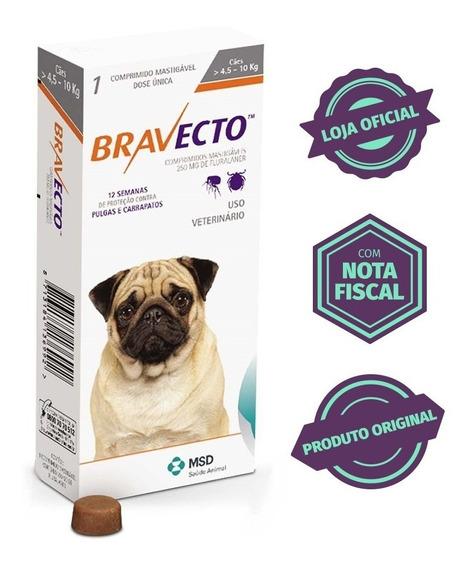 Bravecto Original Para Cães De 4,5 A 10kg - Com Nota Fiscal