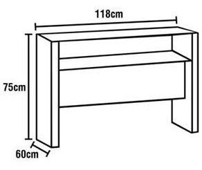 Mesa Para Computador Em Inox E Vidro