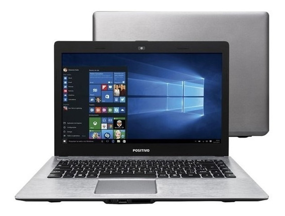 Notebook Positivo Intel Core I3 4gb Hd 500gb Hdmi Wifi Novo
