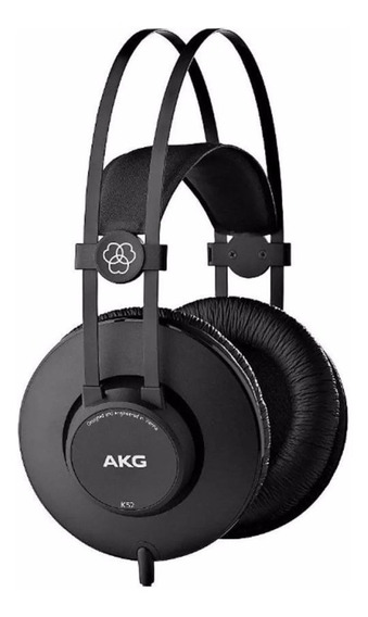 Fone Ouvido Akg Over - Ear K52 Profissional Nota Fiscal Loja