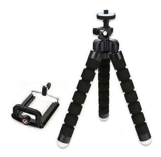 Mini Tripe Flexível Universal Para Celular iPhone Camera