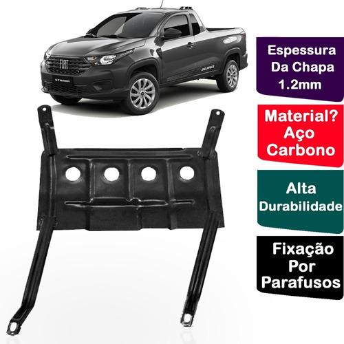 Protetor Carter Peito De Aço Fiat Strada 2020 2021