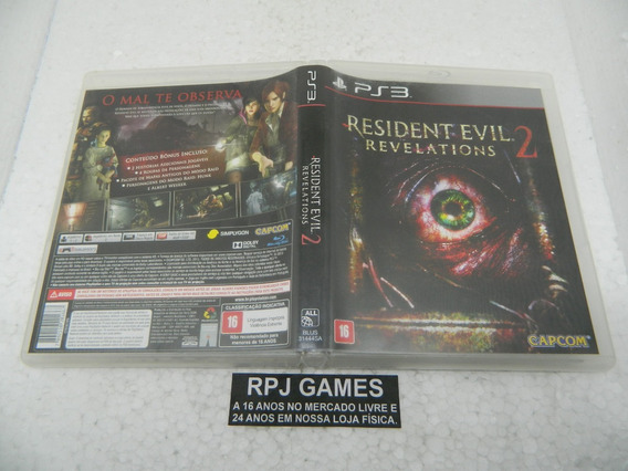 Resident Evil Revelations 2 Original Midia Fisica Comple Ps3