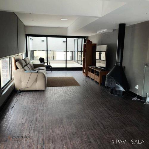 Imagem 1 de 30 de Linda Cobertura Triplex Com 3 Dormitórios À Venda, 233 M² - Jardim Paulista - São Paulo/sp - Co0062