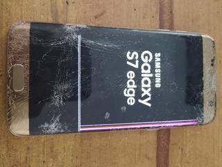 Samsung S7 Edge No Sirve Pantalla Por Piezas