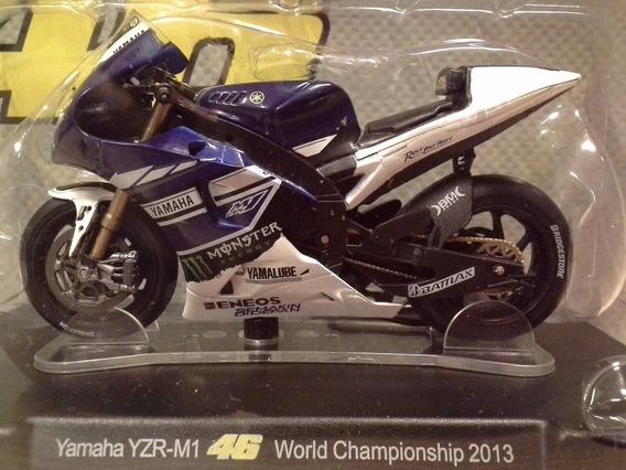 Miniatura Moto Valentino Rossi Vr46 2013 Escala 1:18