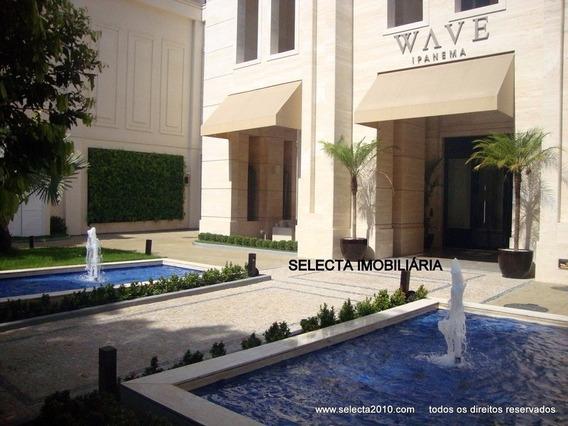 Apartamento Novo, Todo Equipado E Mobiliado, No Sensacional Edifício Wave !!! - Ap00093 - 4722351