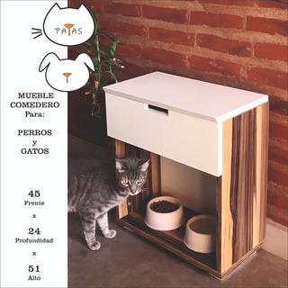 Comedero Para Perros Y Gatos - 20% Off - ( Patas Muebles )