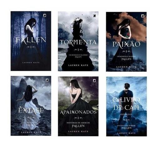 Kit Série Fallen 5 Livros E O Livro De Cam - Lauren Kate