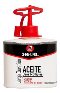 Aceite Multiusos 3 En 1 / 3 En Uno Presentación Gotero 30 Ml