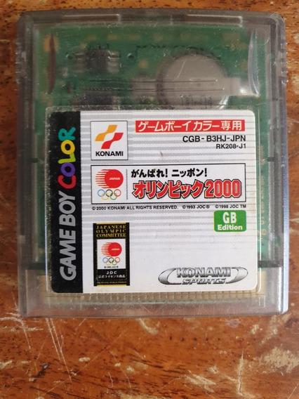 Jogo Game Boy Color Japones