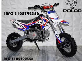 Moto Enduro Pitbike Motocross Polar 70cc 90cc 110cc Nueva