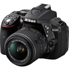 Câmera Profissional Dslr Nikon D5300 Kit 18-55mm Vr