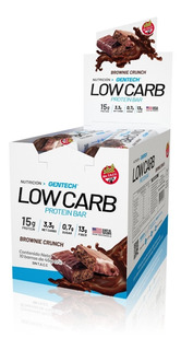Low Carb Protein Bar Cajita X 10 Unid Gentech Tienda Oficial
