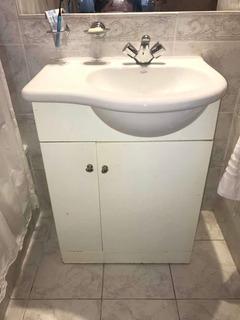 Vanitory Blanco Mueble De Baño 60cm