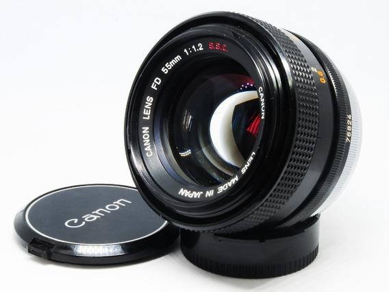 Lnete Canon Fd 55mm 1:1,2f S.s.c