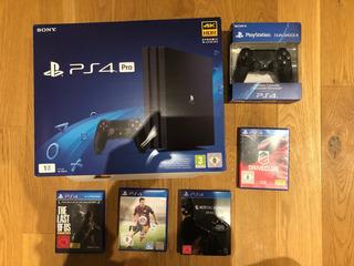 Nueva Consola Sony Playstation 4 Pro 1tb Sellada 4k Chorro