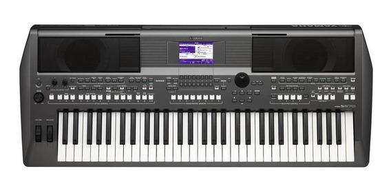 Teclado Arranjador Yamaha Psr-s670 - Com Fonte E Porta Parti