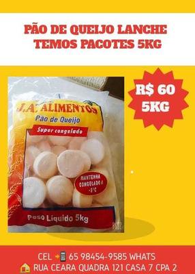 Pacotes De Pão De Queijo 5kg