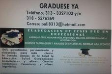 Graduate Ya.com. Realizamos Trabajos De Grado Y Tutelas
