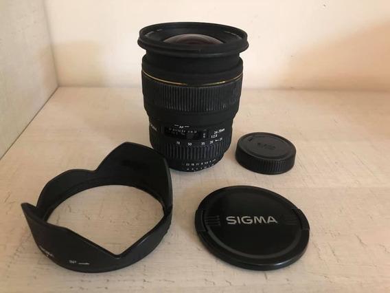 Lente Sigma P/ Nikon 24-70mm Ex Dg Macro 12x Sem Juros!!!