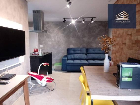 Apartamento Em Guarulhos, Bosque Ventura, 2 Dormitórios, 1 Suíte, 1 Vaga. - Ap0757