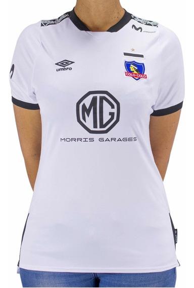 Camiseta Colo Colo Umbro 2019-20 Mujer Titular / Stgo. Boxer