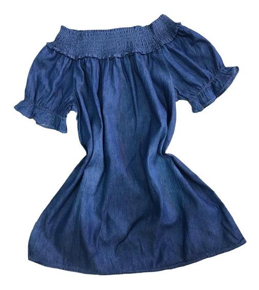 Blusa Feminina Jeans Ciganinha Verão Lançamento Importado