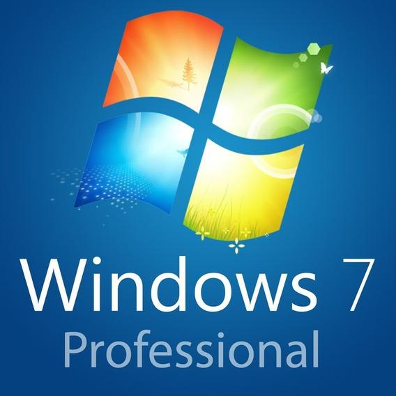 Windows 7 Professional Licença Chave Serial Original
