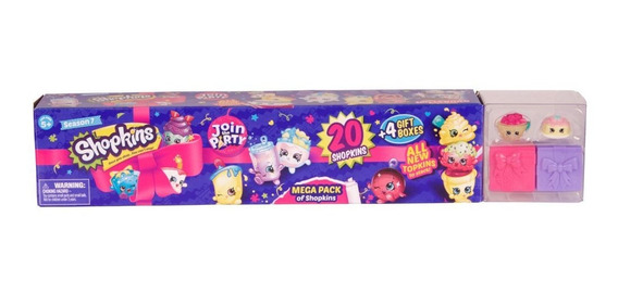 Shopkins Mega Kit Com 20 Shopkins Série 7 Dtc