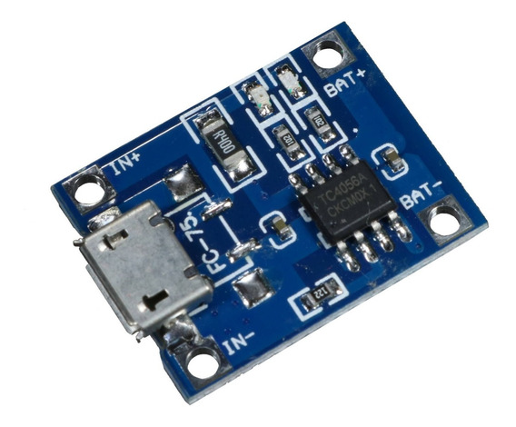 3 * Módulo Controlador De Carga Para Bateria De Lítio Tp4056