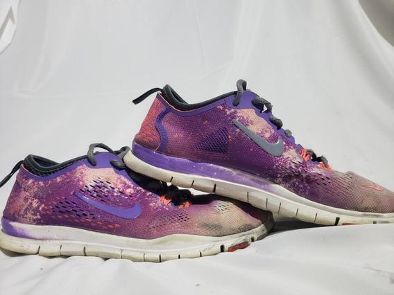 Nike Free 5.0 Tr Fit 4 Feminino Tamanho 10 Sapatos De Treina
